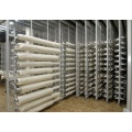 Pull out rolled cloth storage system